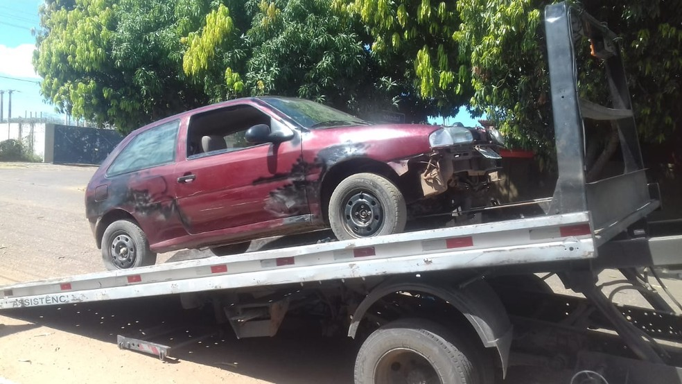 Segundo a Polícia Militar, homem preso no Piauí é suspeito por diversos furtos de veículos — Foto: Polícia Militar