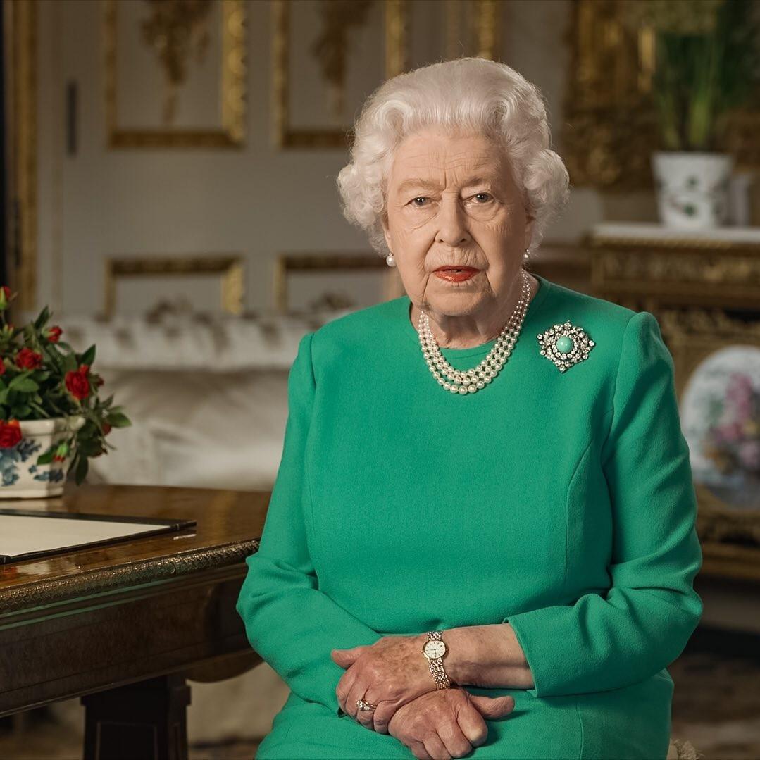 "Rainha Elizabeth II fala sobre a pandemia de coronavírus: ""Dias ..."