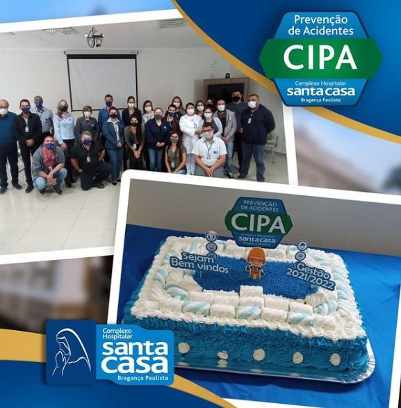 Como foi a posse da CIPA na Santa Casa de Bragança Paulista