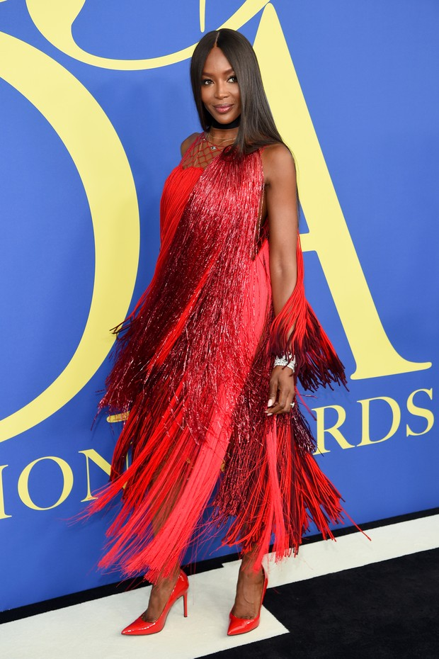 NEW YORK, NY - JUNE 04:  Naomi Campbell attends the 2018 CFDA Fashion Awards at Brooklyn Museum on June 4, 2018 in New York City.  (Photo by Dimitrios Kambouris/Getty Images) (Foto: Getty Images)
