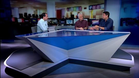 """Cereto, Aydano e Courrege condenam gritos de """"time sem vergonha"""" contra o time do Fluminense"""