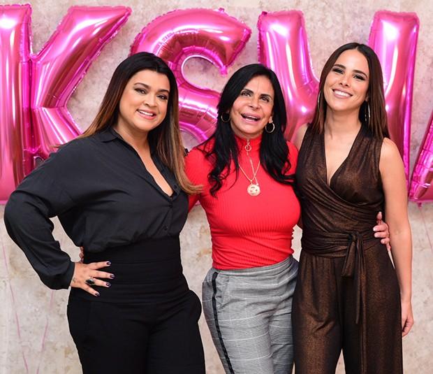 Preta Gil, Gretchen e Wanessa (Foto: Leo Franco / AgNews)