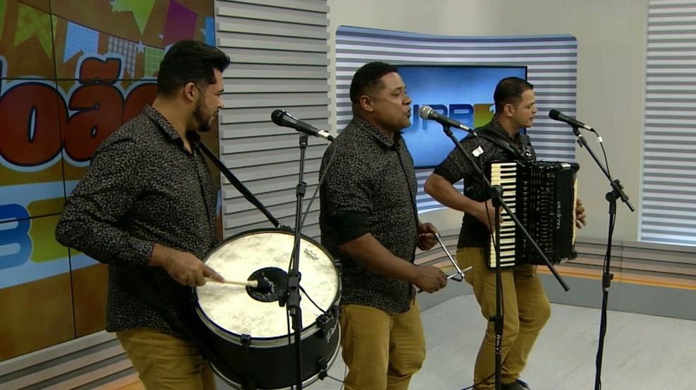 Grupo Os Três do Nordeste é uma das atrações da Rota Cultural Raízes do Brejo 2019 — Foto: TV Cabo Branco/Reprodução