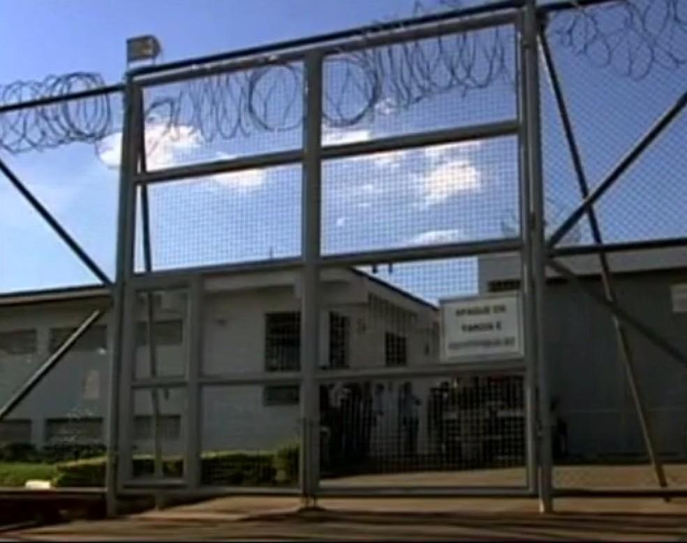Penitenciária Pio Canedo em Pará de Minas — Foto: Reprodução/TV Integração