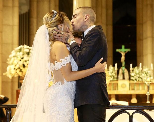 Lexa e Guimê se casam (Foto: Manuela Scarpa/Brazil News)