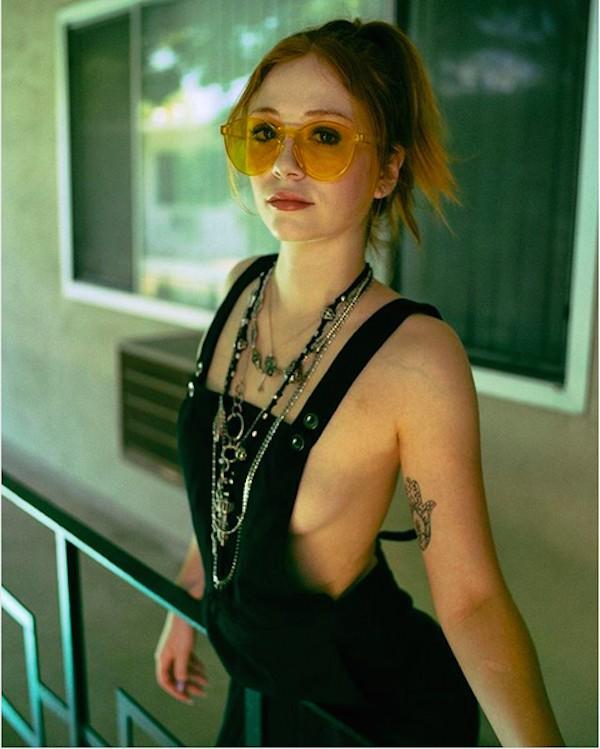 A atriz Liliana Mumy, hoje aos 24 anos (Foto: Instagram)