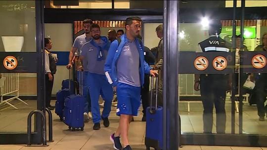 Robinho diz que Cruzeiro tem obrigação de vencer Universidad, no Chile