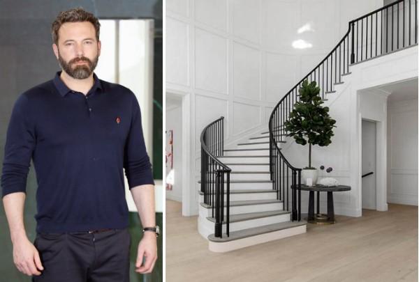 O ator Ben Affleck e sua nova mansão (Foto: Getty Images/Divulgação)