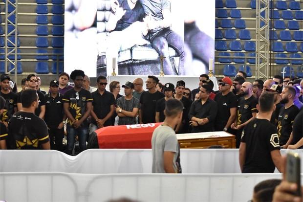 Integrantes da banda de Gabriel Diniz (Foto: Felipe Souto Maior / Ed. Globo)