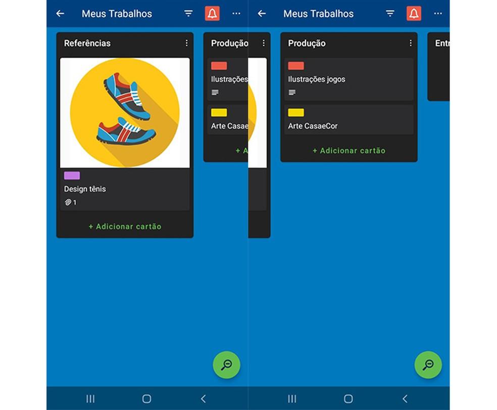 Organize as etapas de produção de seus projetos com o aplicativo Trello — Foto: Reprodução/Marcela Franco