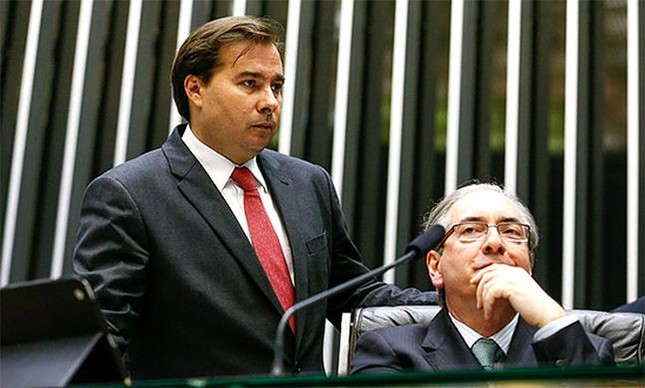 Rodrigo Maia e Eduardo Cunha