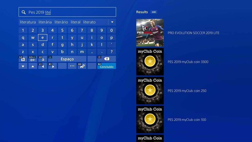 PES 2019 Lite: como baixar a versão grátis do game | Jogos de