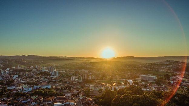 Cerca de 70% da economia de Itabira gira em torno da mineração (Foto: ESDRAS VINICIUS/BBC)