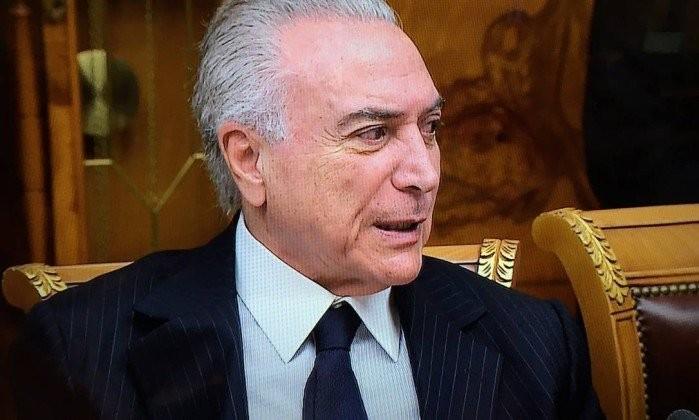 Resultado de imagem para Foto de Temer x Globo