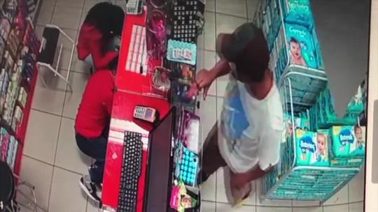 Farmácia é assaltada 4 vezes em menos de um mês em MT; veja vídeo