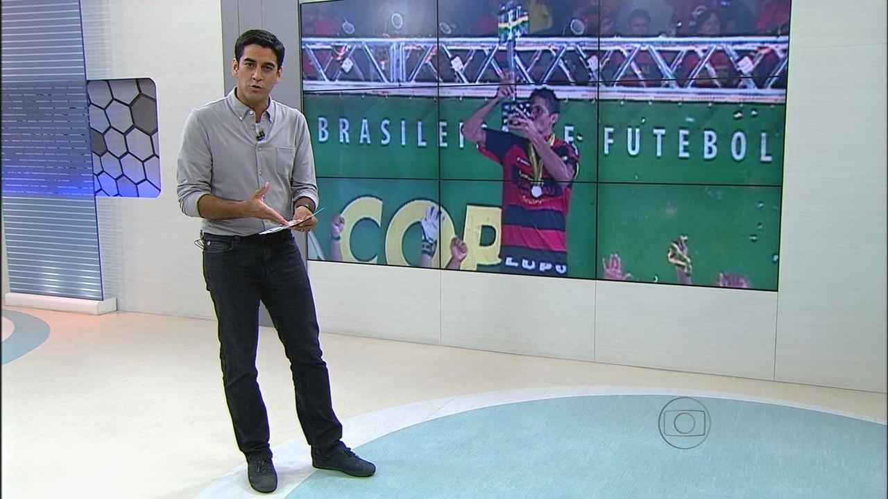 Durval, ex-Sport, na seleção brasileira