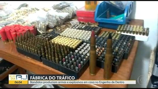 2 são presos em fábrica clandestina de armas, munições e explosivos no Rio