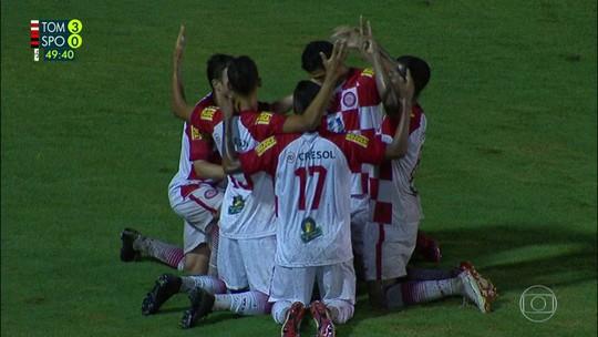 Gols de Tombense 3 x 0 Sport