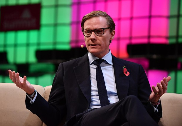 Alexander Nix, CEO da Cambridge Analytica, no WebSummit  (Foto: Sam Barnes/Web Summit )