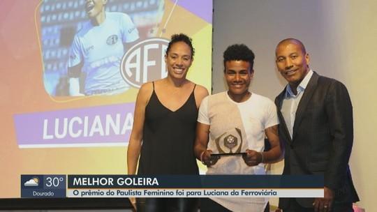 Atleta da Ferroviária, Luciana é eleita melhor goleira do Paulista Feminino