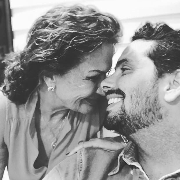 Ieda e Marcelo Gomes (Foto: Reprodução/Instagram)