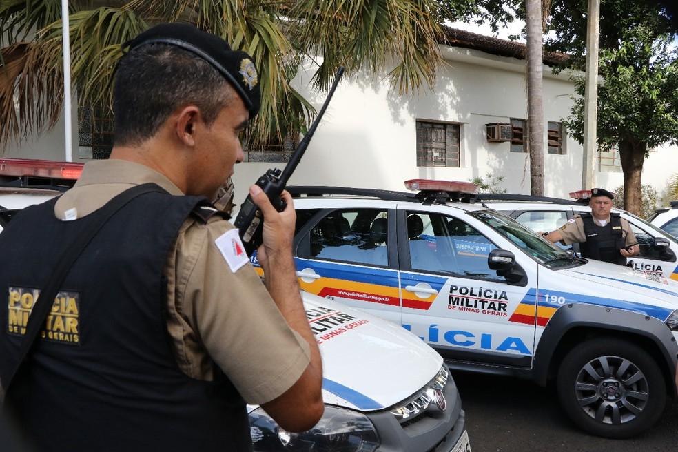 Em Uberaba, cai o número de crimes violentos e cresce registros de violência doméstica — Foto: Sérgio Teixeira/Assessoria de Comunicação da 5º RPM