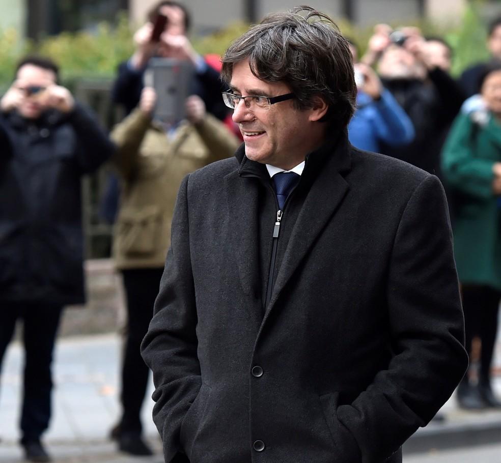 Carles Puigdemont, ex-presidente regional da Catalunha, em imagem de arquivo (Foto: Eric Vidal/Reuters)