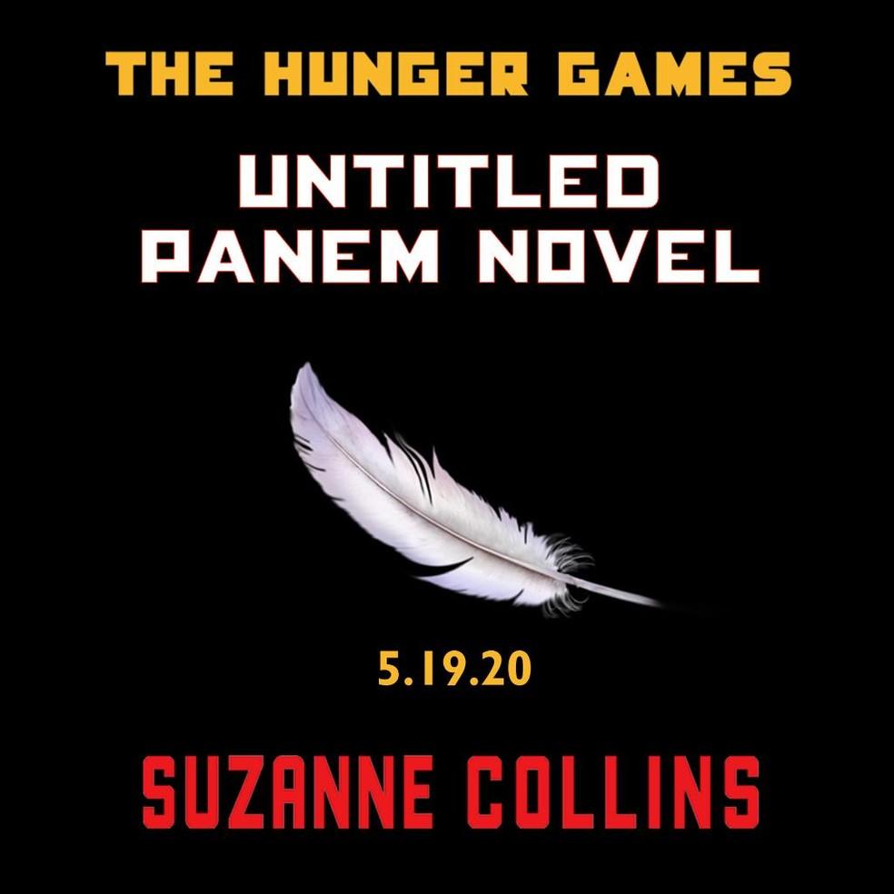 """Capa de prequel de """"Jogos Vorazes"""", próximo livro de Suzanne Collins  — Foto: Reprodução/Instagram"""