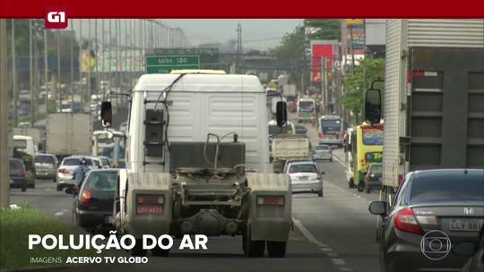G1 em 1 Minuto: mortes causadas pela poluição do ar aumentam 14% em 10 anos