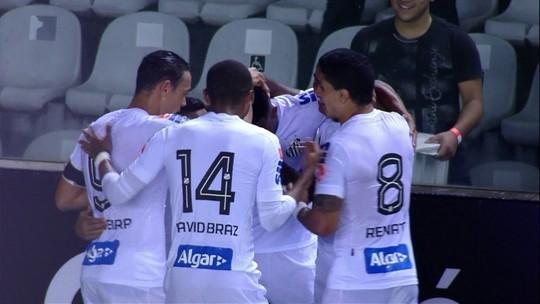 Santos não empolga, mas bate Paysandu por 2 a 0 e tem boa vantagem nas oitavas