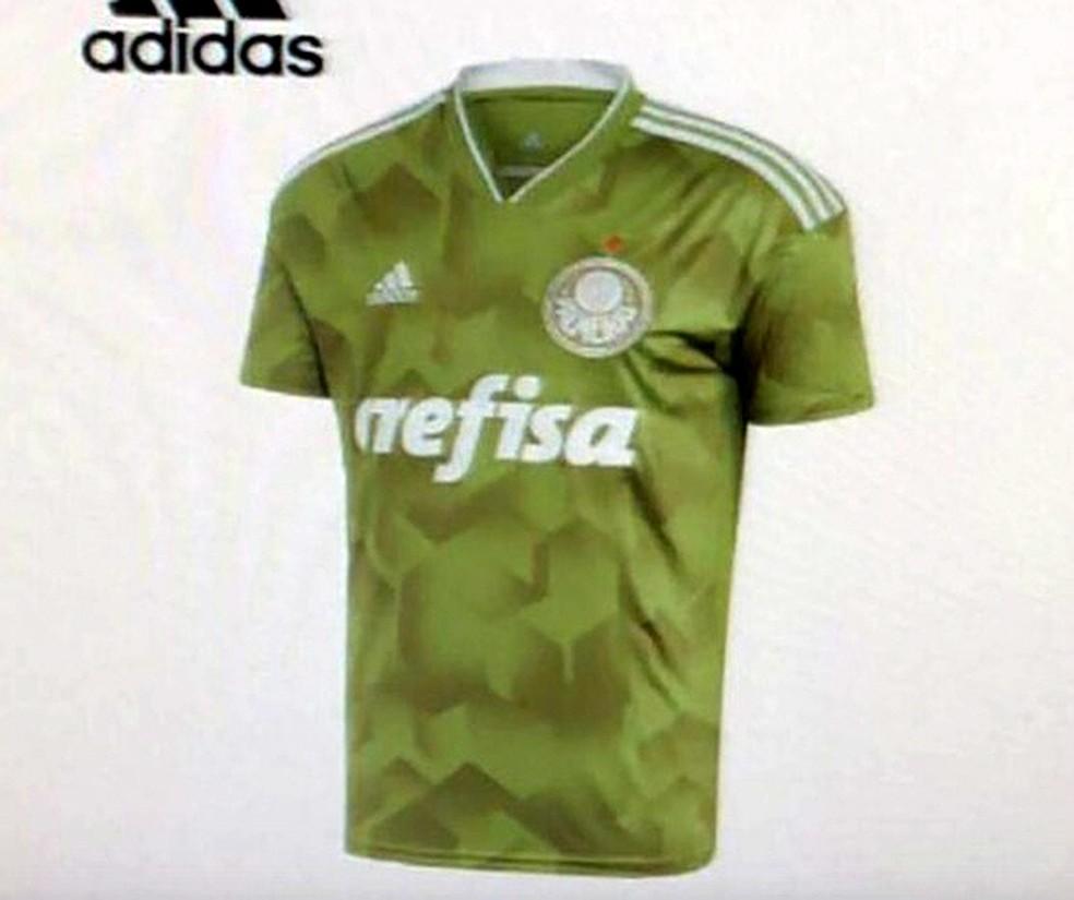 17d3888ef1 Verde militar: vaza provável nova camisa 3 do Palmeiras | palmeiras ...