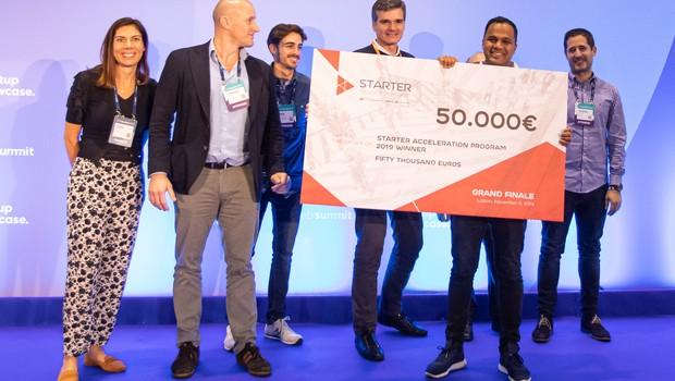 Startup LexX, vencedora do programa Starter da EDP (Foto: Paulo Coelho)