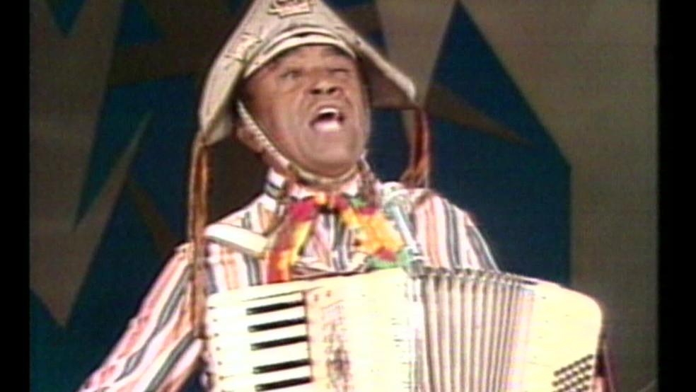 Luiz Gonzaga morreu no dia 2 de agosto de 1989 — Foto: Reprodução/TV Globo