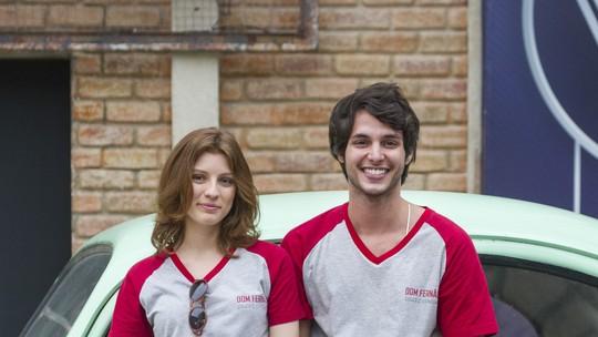 Bruno Guedes e Giulia Gayoso comentam primeiro beijo #Jucas: 'Momento especial'