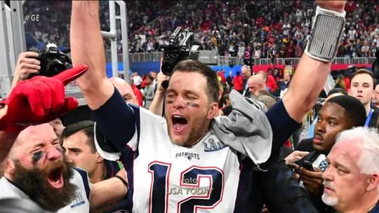 Tom Brady faz história, vence mais um SuperBowl e chega a sua sexta conquista na NFL