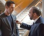 Damian Lewis e Paul Giamatti em cena de 'Billions' | Divulgação / Showtime
