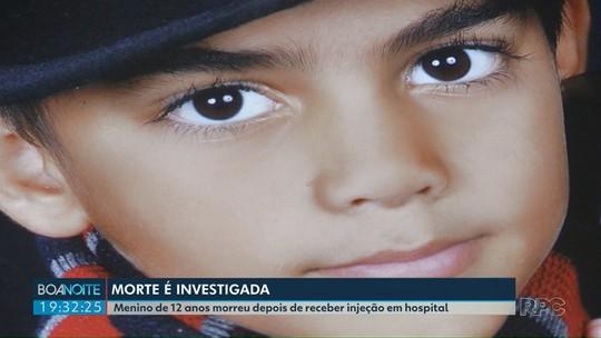 Menino de 12 anos morreu depois de receber injeção em hospital em Campina da Lagoa