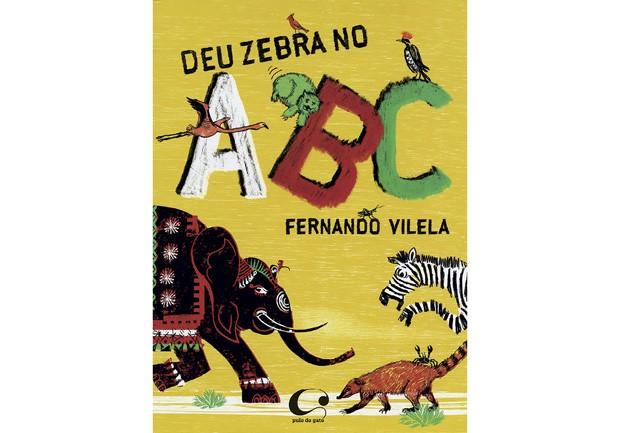 Texto e ilustrações de Fernando Vilela, Editora Pulo do Gato, R$ 43,70. A partir de 3 anos. (Foto: Reprodução)