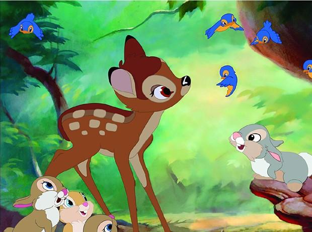 Cena de Bambi (Foto: Divulgação)