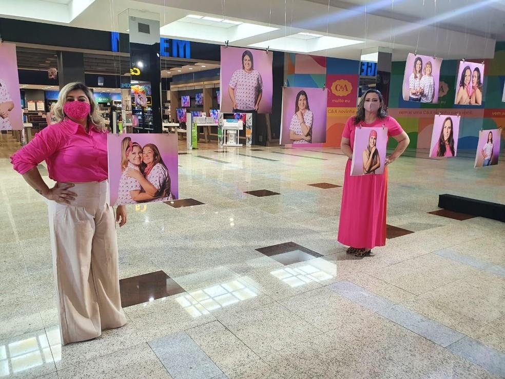 Exposição em shopping e vai ficar no Memorial da Resistência — Foto: Divulgação