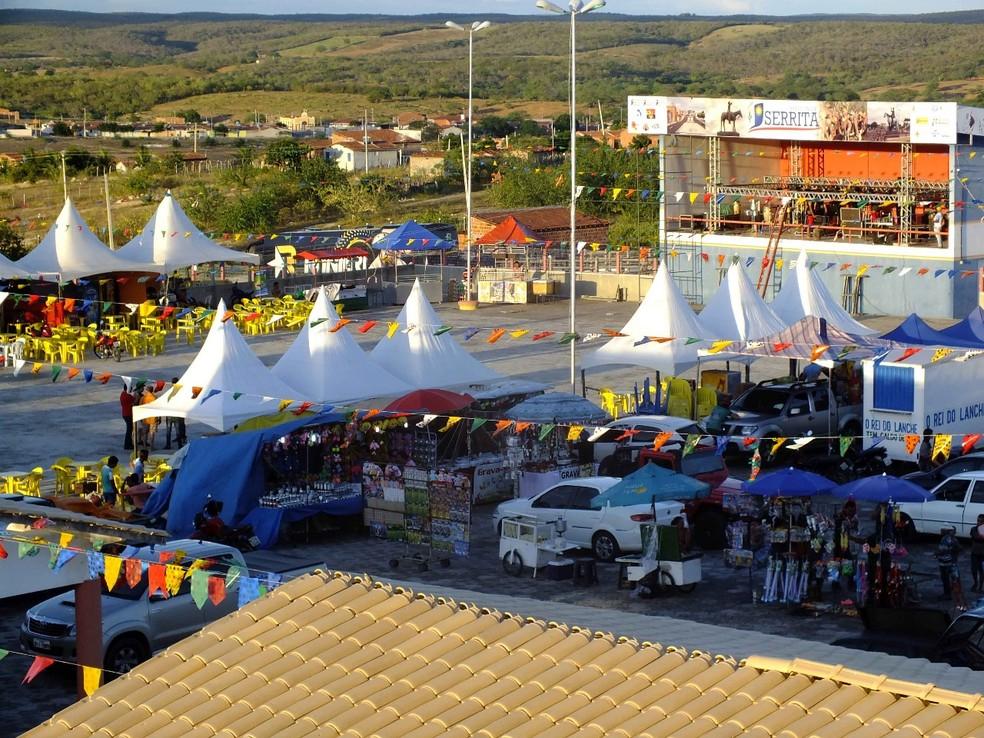 7ª Feira de Negócios e Exposição de Caprinos e Ovinos em Serrita. (Foto: Divulgação/Centro de Atividades Econômicas (CAE).)