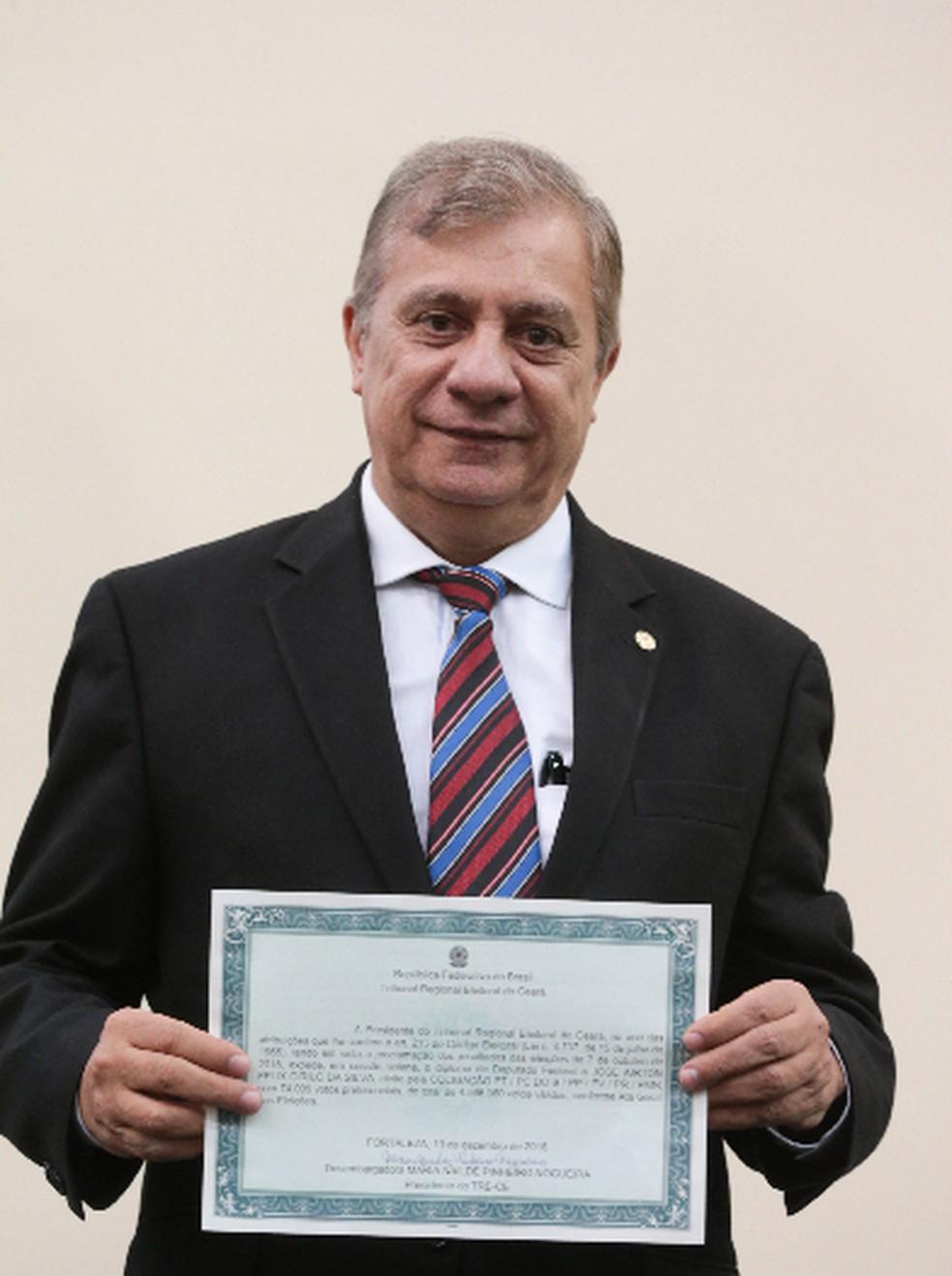 Deputado José Airton (PT) — Foto: Saulo Roberto/SVM