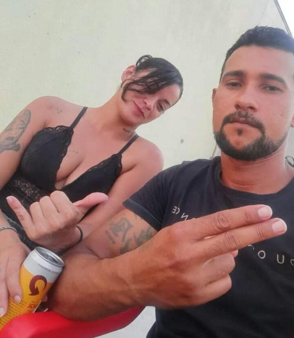 Michele Machado e Cristiano Santos foram encontrados mortos em Sinop — Foto: Facebook