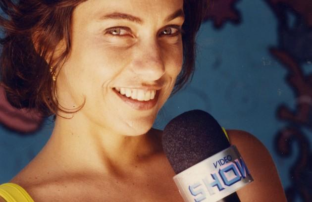 Cissa Guimarães apresentou o 'Video Show' em 1994 (Foto: Gustavo Stephan-10/05/1994)