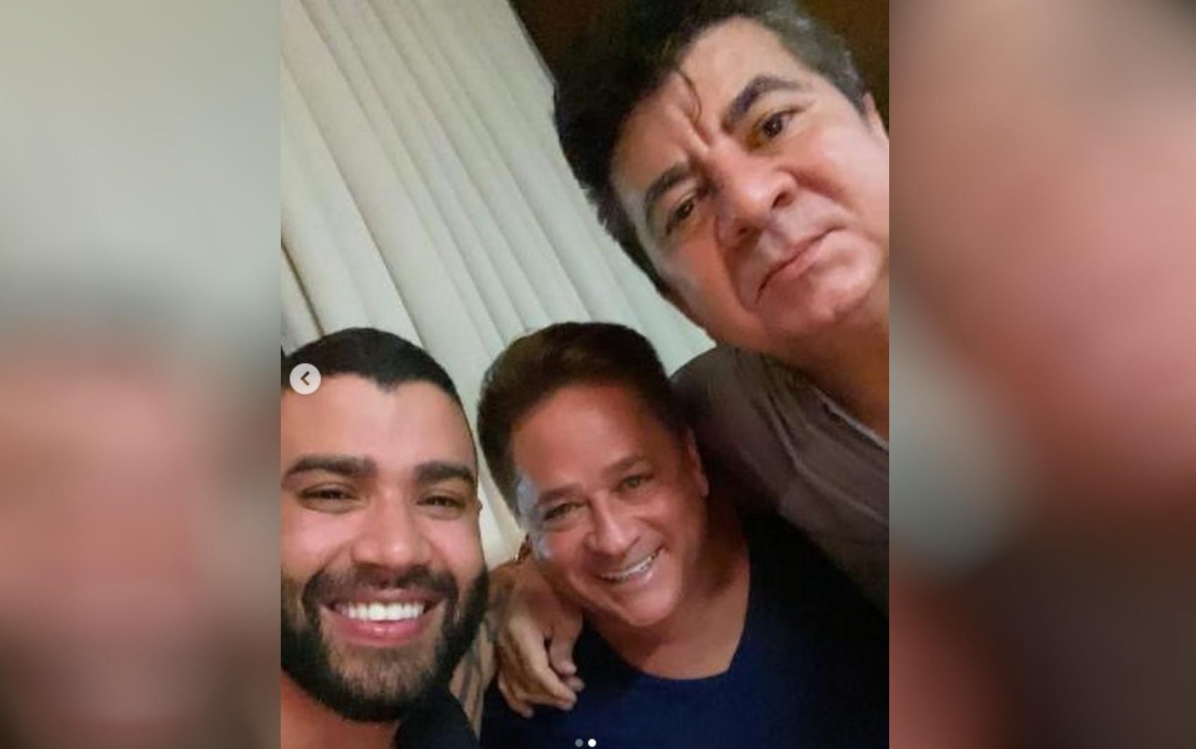 Zezé Di Camargo, Gusttavo Lima e outros famosos lamentam morte de assessor de Leonardo