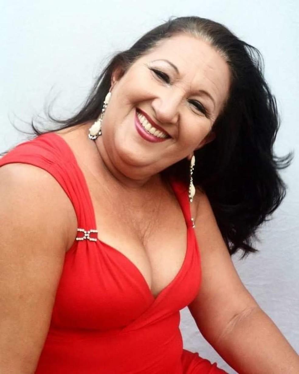 Maria Aparecida de Medeiros Silva morreu de Covid-19 — Foto: Cedida