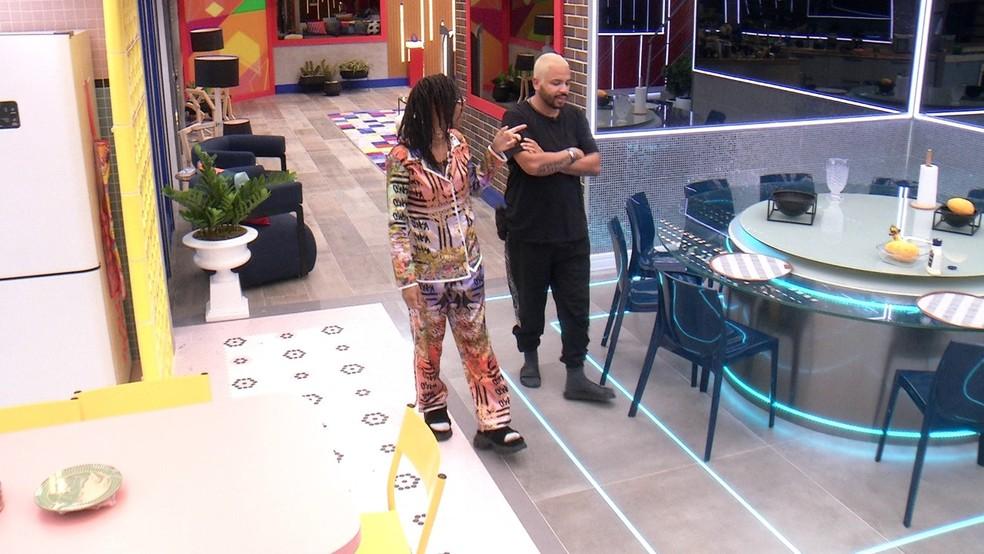 Projota sobre BBB21: 'A partir de agora é outro jogo' — Foto: Globo