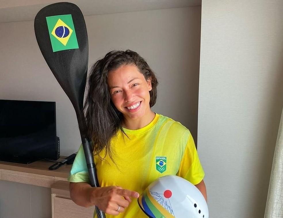 Em Tóquio, Ana Sátila disputará os Jogos Olímpicos pela terceira vez na carreira — Foto: Reprodução/Instagram