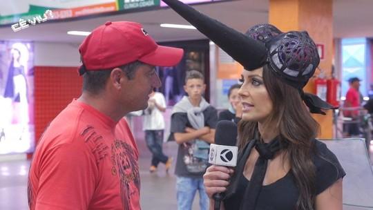 Cecília vai às ruas falar sobre dengue