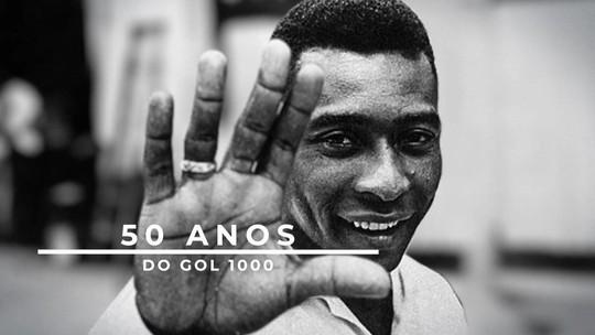 Luís Roberto relembra reconstrução da épica narração do milésimo gol de Pelé